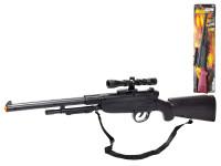Pistole - Puška plast 67cm klapací