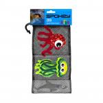 Spokey ZOO 2 Hračky pro potápění - žralok, chobotnice, medůza