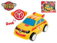 R / C Renault Twingo žlté 18 cm 2,4 GHz na batérie 4 zvuky