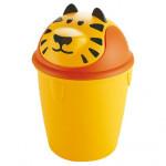 kôš odpadkový detský TIGER výklopný 12l okrúhly plastový