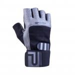 Spokey Guanta II fitness rukavice veľ. M čierno-šedé