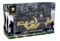 Combat Hero - soldier with SUV - VÝPREDAJ