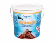 Tablety LAGUNA QUATRO 4v1 do bazénu 2,4kg