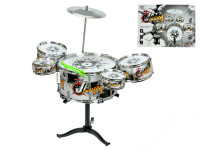 Sada bicích - 5 ks bubnů, činel a paličky