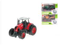Traktor 8 cm kov volný chod - mix barev