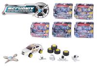 Mechanix - auto kov 7cm s náradím - mix variantov či farieb