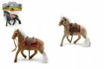 Kôň flíska 10cm - mix farieb