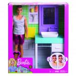 Barbie Ken s nábytkom - mix variantov či farieb