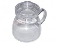 kanvice JANA 0,6l viečko skl., rukoväť skl.