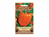 Osivo Paprika zeleninová Kubišta F1, do skleníka, oranžová