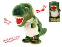 Dinosaurus chodící a mluvící 20 cm na baterie