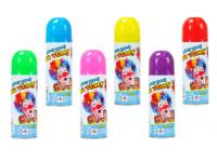 Farba na vlasy v spreji zmývateľná 140 ml - mix farieb