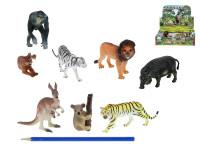 Zvířátka safari menší plast 7,5-13cm - mix variant či barev