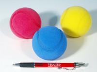 Soft loptu na soft tenis penový priemer 7cm - mix farieb