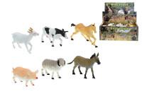 Zvířátka farma 14-17 cm - mix variant či barev