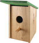 Budka zahnízďovací - pro větší ptáky, odnímatelný předek špačkovník