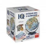 IQ kvízová hra s glóbusom spoločenská vedomostnú hra v krabici 440 otázok