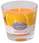 Sviečka sklo - aróma pomaranč 160 g - 4 ks