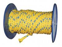 lano PPV bez duše 10mm farebné pletené (100m)