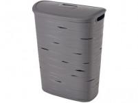 kôš na špinavé prádlo RIBBON 59x45,7x27,3cm plastový, ŠE