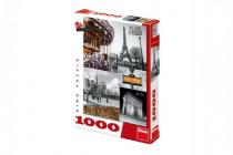 Puzzle Paříž - koláž 1000 dílků 47x66cm