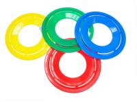 Házecí disk 23 cm - mix barev