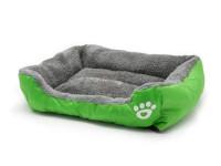 Pelech pre psov a mačky štvorhranný, zelený, Domestic