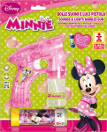 Bublifuková pištole Disney Minnie veľká + bublifuk 60 ml