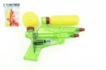 Vodné pištole plast 16cm - mix farieb