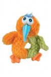 Hračka pes BIRDY LOVE plyš oranžová 18cm Zolux
