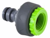 Adapter na kohútik 1/2 a 3/4 Stalco GARDEN vnútorný závit