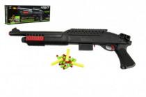Pištoľ / puška na penové náboje plast 56cm