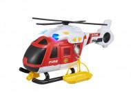 Teamsterz hasičská helikoptéra so zvukom a svetlom