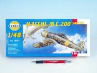 Model Macchi M.C. 200 Saetta 16,1x21,2cm