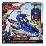Hasbro Avengers akčná figúrka s novými vozy - mix variantov či farieb