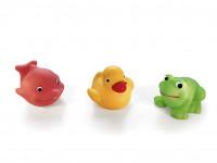 Gumové hračky - 3 zvířátka do vody - mix variant či barev