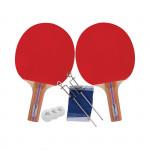 Spokey ALPHA SET * - Sada na stolní tenis včetně síťky