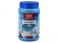 Cranit TRIPLEX tablety 1kg, dezinfekcia, proti riasam, vločkovanie