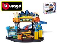 Bburago 1:43 STREET FIRE Skyline garáž hrací set + 1 ks auto