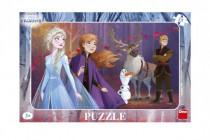 Puzzle doskové Ľadové kráľovstvo II / Frozen II 29,5x19cm 15 dielikov