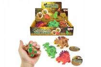 Dinosaurus sliz mačkacie 9cm - mix variantov či farieb