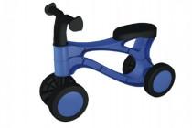 Odrážedlo Rolocykl modrý plast výška sedadla 26cm