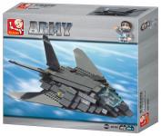 Stavebnice Neviditelný Bombardér F117