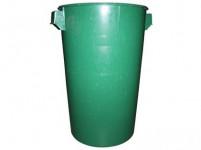nádoba 50l plastová, neštandard, bez veka - mix farieb