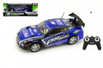 Auto RC 25cm plast zrychlující 1:18 na baterie 27MHz