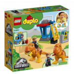Lego Duplo 10880 Jurassic World T. rex a věž
