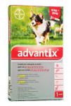 Advantix SO pes 10-25kg auv červený sol 1 x 2,5 ml