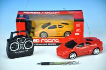 Auto RC plast 16cm 27MHz na baterie - mix barev