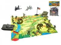 Sada vojáci s mapou a doplňky