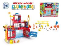 Mickey Mouse hasičská stanice na baterie se světlem a zvukem + 2 ks figurky